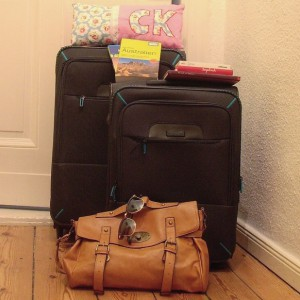 Koffer auspaclen