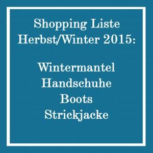 Chaos im Kleiderschrank_Saisonwechel_Shoppingliste