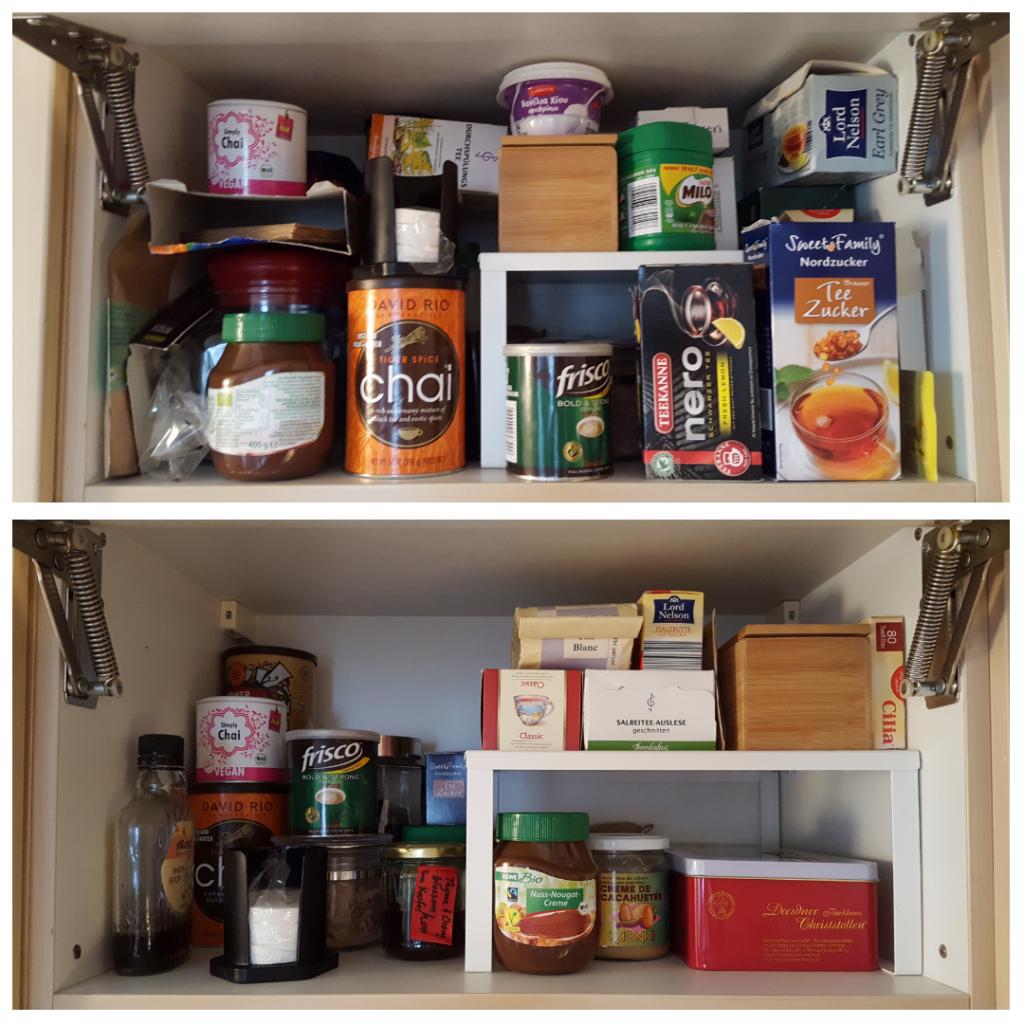Projekt #4: Küche – Chaos im Kleiderschrank