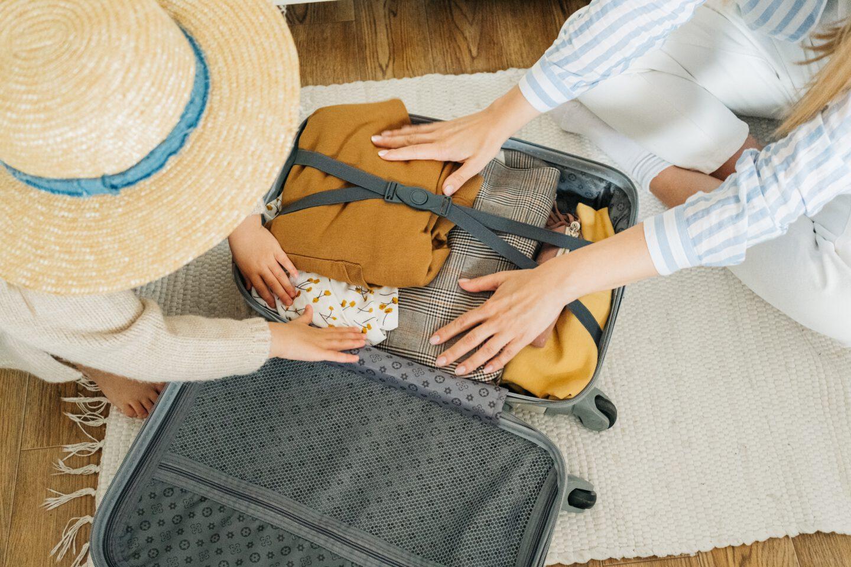 Ich packe meinen Koffer… aus!